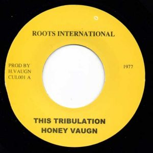 This Tribulation    Honey Vaughn
