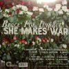 She Makes War Back of LP